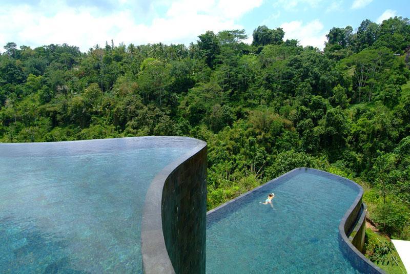 Travels myanmar for Hanging garden pool ubud